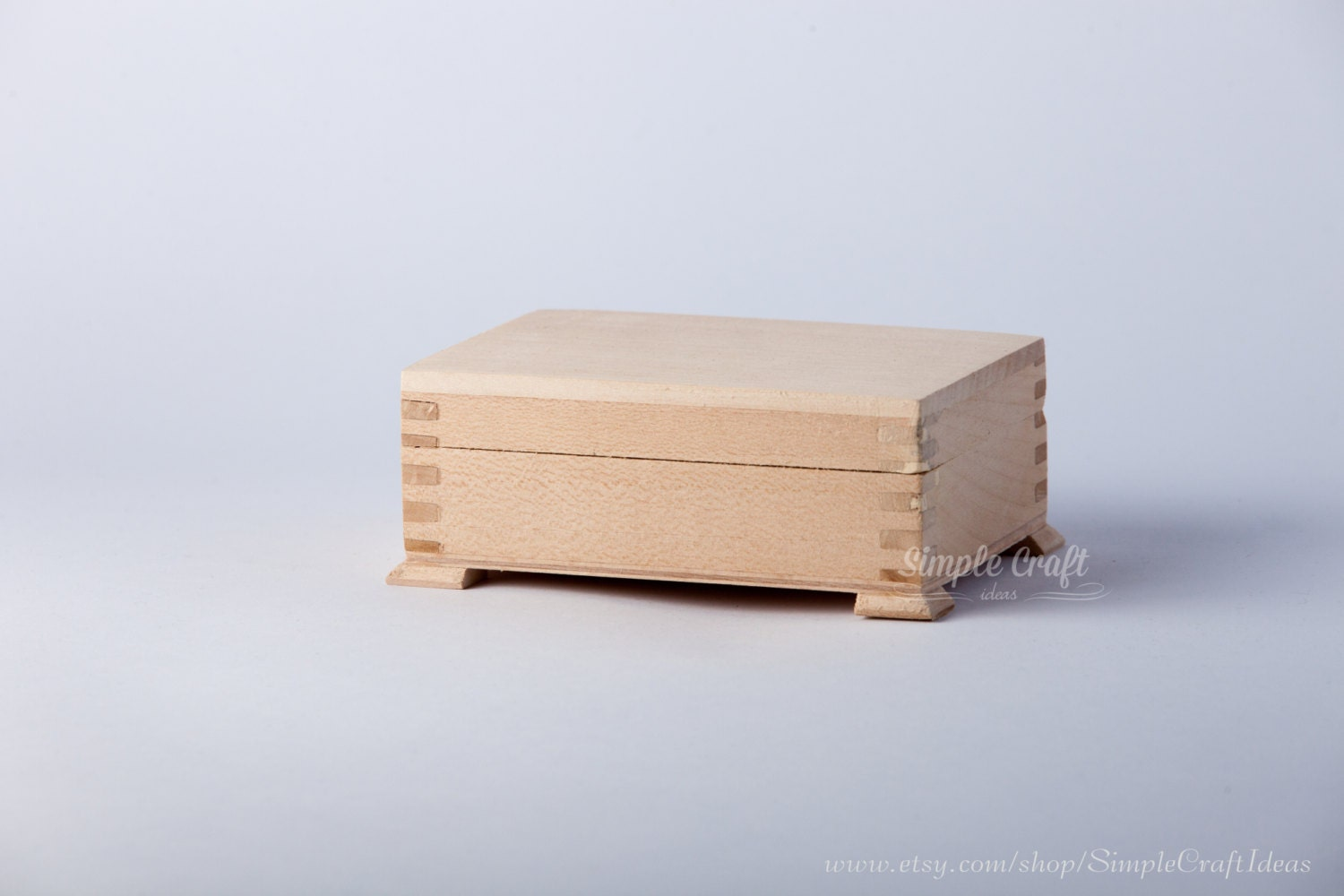 Diy wooden box unfinished wooden box diy wood crafts diy home for Unfinished wooden boxes for crafts