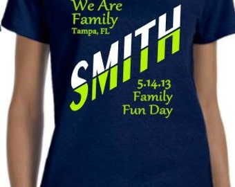 Family Reunion Family Vacation Family Trip Group t-shirts