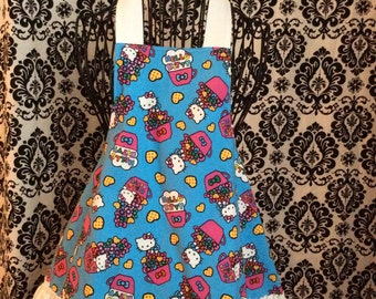 Girls hello kitty apron