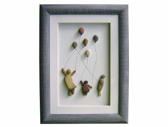Unique Pebble Art Home Decor New Home Or Christmas Gift Kids