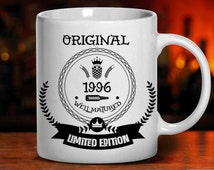 19th birthday, birthday mug, 1996 birthday, 19 years old, birthday gift, gifts for dad, mom, men, women, tea mug, coffee mug, mugs, party