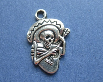 Skeleton With Guitar Etsy