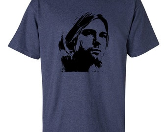 Kurt Cobain Nirvana t-shirt with 4 colour options