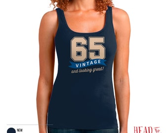 65th Birthday, 65th Birthday Gift, 65th Birthday Party, 1951 Birthday, 65 Birthday, Tank Top, 65th, 65, 65th Birthday Shirt, 65 years old!