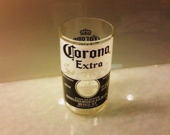 Large Corona Extra Beer Bottle Drinking Glass
