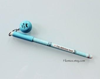 Macaron Pen (Blue)