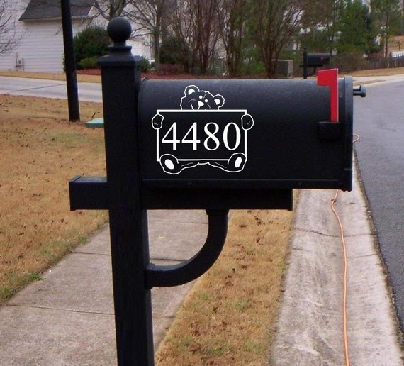 Wall Decor Mailbox : Mailbox decals ornaments wall decor home interior