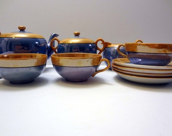 Shofu lusterware tea set