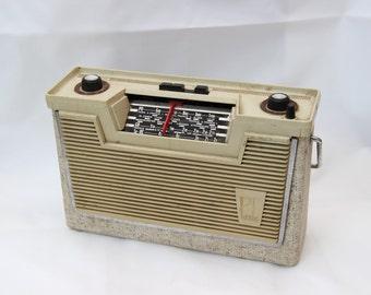 Old vintage transistor radio