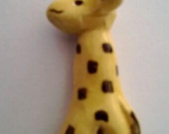Individual Giraffe Ceramic Tiles (Mosaic)