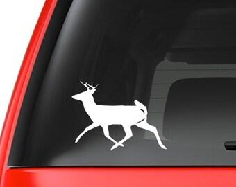 Buck / Deer (H8) Vinyl Decal Sticker Car/Truck Laptop/Netbook Window
