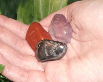 PROTECTION CRYSTALS (Charged & cleansed) - Wards negativity, psychic and physical attacks, grounding and protecting your home.