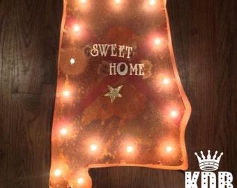 "Sweet Home Alabama Marquee Light - 24"" High"