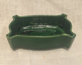 Vintage Ungemach Pottery Planter Jade Green Vintage USA UPCO 294