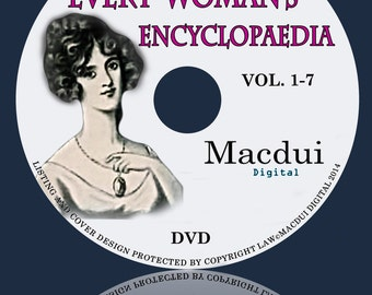 Every Woman's Encyclopaedia Vol.1,2,3,4,5,6,7 PDF 7 E-Books on 1 DVD