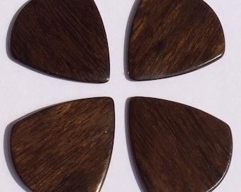 Exotic Wood Picks - Set of 4