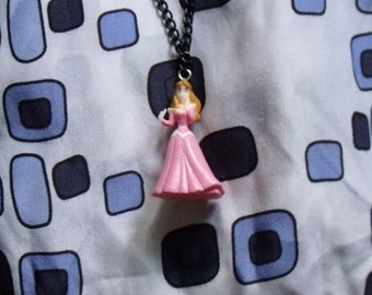 Disney Sleeping Beauty Character Necklace Handmade For Cuteness!