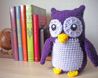 Crochet Owl Stuffed Animal