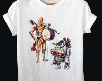 R2 D2 Shirt RoBot Tank top R2 D2 T Shirt