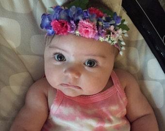 You Belong Among the Wild Flowers Headband