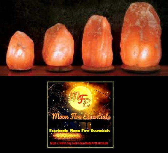 Salt Lamps Emf Protection : Natural Form Salt Lamps. mini thru jumbo by MoonFireEssentials