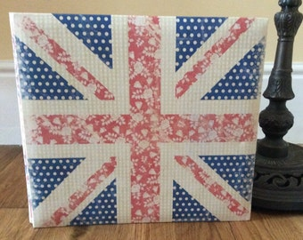 Scrapbook Album - British Flag