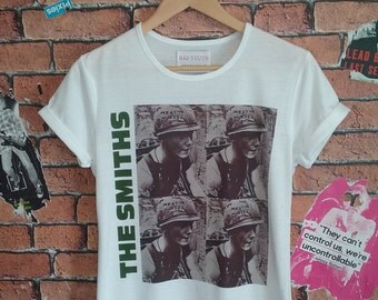 Woman's The Smiths indie t shirt (Men's fit also available)