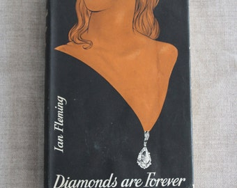 Diamonds Are Forever by Ian Fleming, Thriller Book Club Edition published by Jonathan Cape