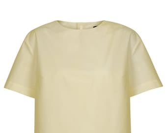 Ladies shirt vanilla/cream