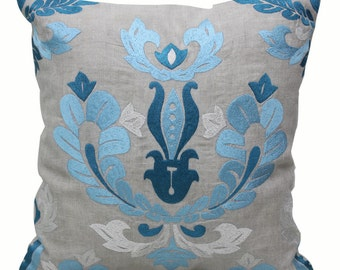 Baroque Cushion | Embroidered Decorative Pillow