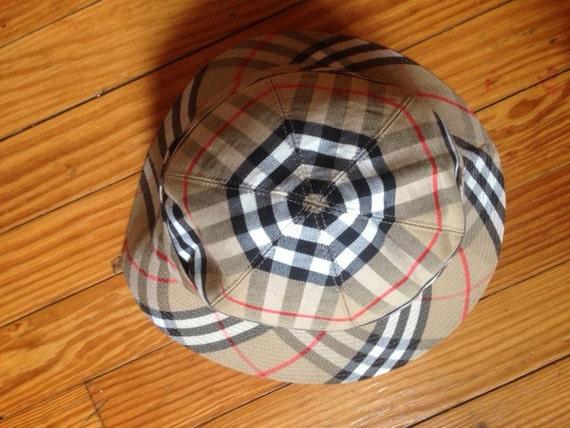 VintageVille Burberry Du Muy Bucket Hat EH2W9eIYD