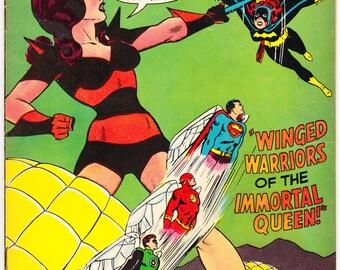 Justice League of America 60, DC Comics, Batgirl, Batman, Wonder Woman, Superman, Aquaman, the Flash. JLA frrom 1968 in FN (6.0)