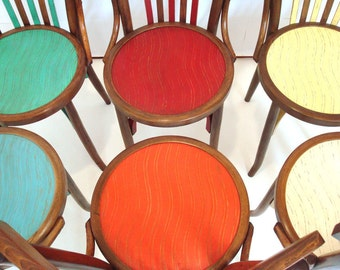 004 Colored chairs