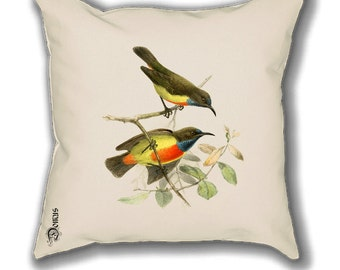 Christmas gift - Sofa Design – Botanical - Throw Pillow Covers - Vintage Prints