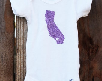 Personalized Hometown State Onesie - All 50 States Available