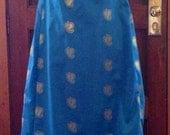 """Plus-Size Bib-Front Dress Regency Gown (bust 40"""" - 56"""")"""