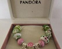 European 925 Silver Plated Bracelet ... Charms..Beads....Pandora Box