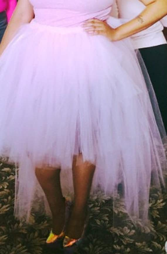 high low tulle skirt by faithandfashion1 on etsy