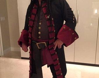 Custom Blackbeard Coat