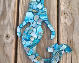 Small Mosaic Mermaid