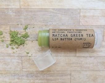 Matcha Green Tea Lip Butter - Chapstick, Lip balm, UNSCENTED