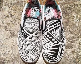 Samoan Theme Vans