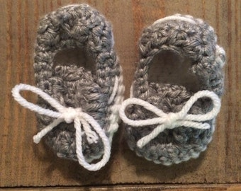 Docksider (Boat Shoe) Baby Booties