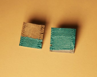 Earrings title: Love Turquoise