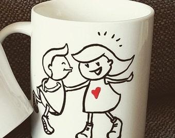 """Mug """"Kiss"""""""