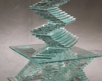 WIGGLE, you can build this  medium glass sculpture project using our step by step instructions