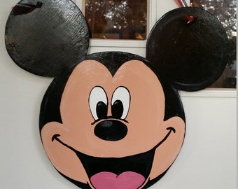 Mickey Mouse Door hang