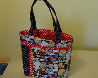 Teacher's Roomy Bag with Many Pockets