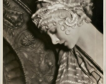 1930's Era Classic Myrna Loy-Art Decco-Black and White print - Multiple Sizes [730-016]
