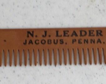 N.J. Leader Jacobus, PA Advertising Comb